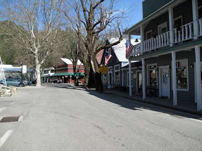 Downtown Downieville