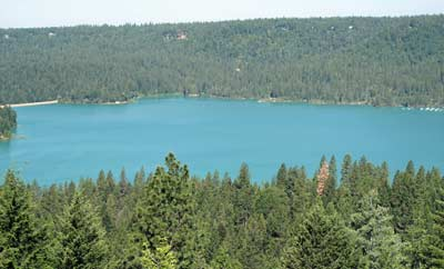 Scotts Flat Lake, picture taken from my deck. May 24,2009