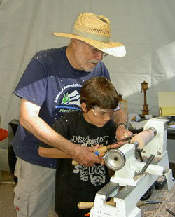 Woodturning-photo
