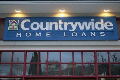 Former mortgage company Countrywide Home Loans failed because of their risky mortgage practices and was taken over by Bank of America