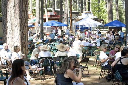 """A Taste of the Gold,"" a fun food and wine fest that features a selection of local and regional wines, fine foods and delectable sweets and treats, is part of the festivities planned during the Draft Horse Classic at the Nevada County Fairgrounds."