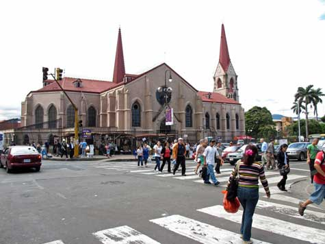 Church Merced, San Jose, Costa Rica