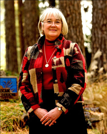 Sandy Woods, CEO of the Nevada County Fairgrounds