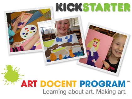 Kickstarter Project: The Art Docent Program Goes Digital!