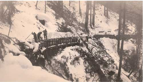A 1952 snowstorm damaged NID's Cascade Canal. NID's water supply is much stronger and real Canal. NID's water supply is much more reliable.