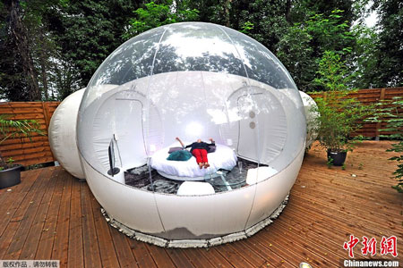 bubble-house