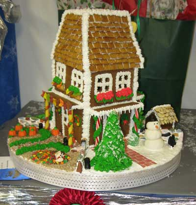 Ginger Bread House best of show 2011