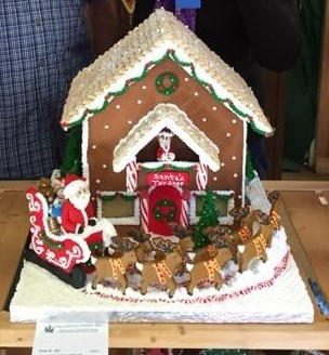 Gingerbread house (Best of Show) - 2014